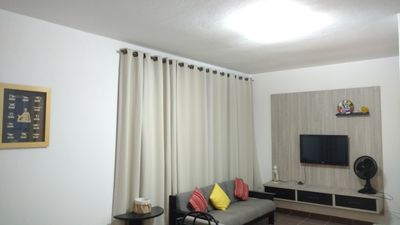 Photo for Comfortable apartment in Embaré - 30 mt from the beach - sleeps 7 people