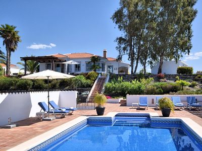 Photo for Beautiful villa with a magnificent view and private swimming pool