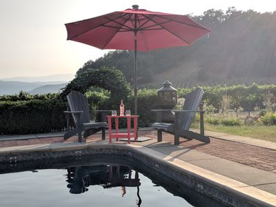 Photo for Views Galore! Wine Country Retreat - minutes from foodie paradise Yountville