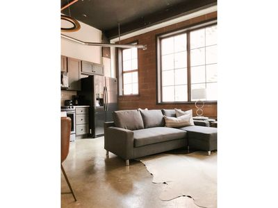 Photo for Cozy Gay St Loft - One Bedroom Apartment, Sleeps 6