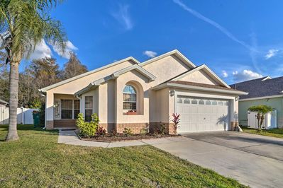 Enjoy an amusement-filled vacation from this 3-bedroom, 2-bath Kissimmee home!