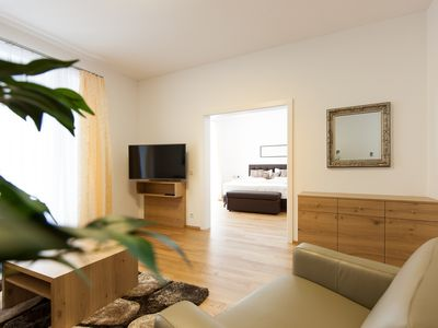 Photo for Deluxe Apartment with balcony and garden- Black Design (Apartment Nr. 4)