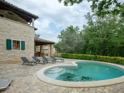 Photo for Stone villa surrounded by greenery near Porec