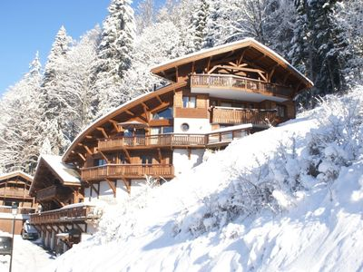 Photo for SUPERB 2 BEDROOMS APARTMENT WITH AMAZING VIEW OVER MORZINE