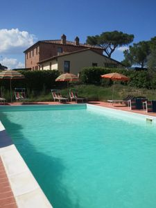 Photo for Farmhouse in the Umbrian and Tuscan hills - Appartamento Albicocca