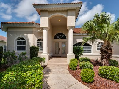 Photo for Large vacation home with private pool in a luxury community of Fort Myers