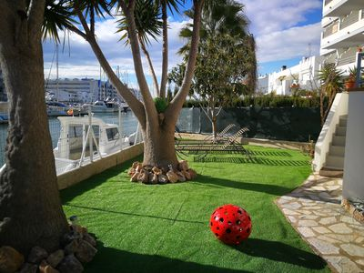 Photo for SPLENDID THREE-ROOM APARTMENT SANTA MARGARIDA with SUPER CANAL VIEW