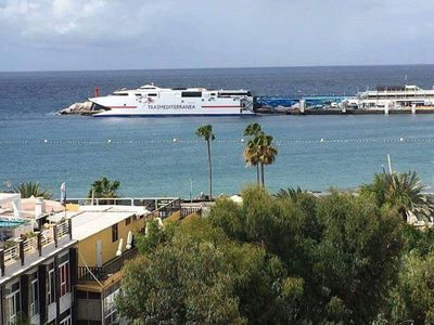 Photo for Lovely apartment ocean view Crissol with balcony, pool, free WiFi and sea views