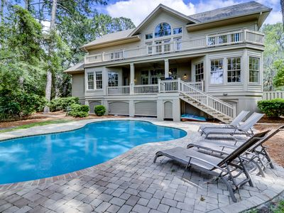 Photo for 13 Audubon Pond - Sea Pines Home, Private Pool and Spa
