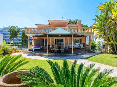 Photo for Beachfront Villa Vidalba in Alcudia
