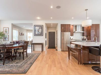 Photo for Gorgeous and modern Open Floorplan Condo easy walking distance to the Redline and easy parking!