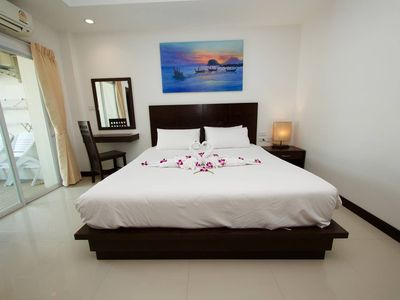 Photo for ⭐ Modern Double Room w Balcony in ❤️ of Patong ⭐