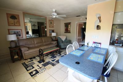 What a GREAT couples get-away!  King size bed, flat screen TV's close to beach!!
