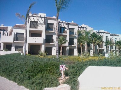 Photo for Luxurious 2 Bed Penthouse Apartment, Huge Roof Terrace, Ph1, Roda Golf Resort
