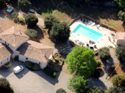 Photo for LUXURY VILLA - AILE independent and air conditioned '' AU CALME '' with SWIMMING POOL