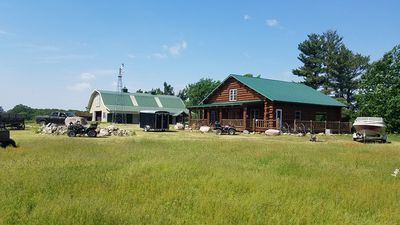 Photo for Gorgeous Ranch - Log Home + Guest House And Barn ~ Large Groups, Reunions, Etc.