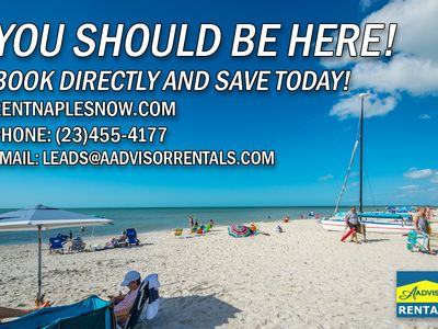 Photo for Modern Park Shore Condo with Private Beach Membership!