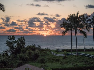 Photo for Kauai North Shore on a lush bluff 200 ft above the sparkling blue Pacific Ocean