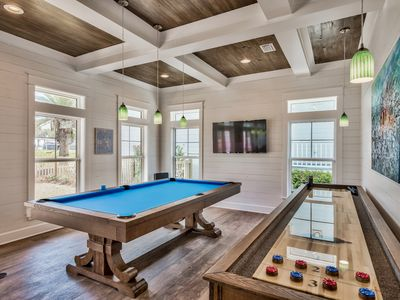 Photo for Chill Pill ALL NEW, POOL TABLE, *Free Chair Service* 2 SUPs, kayak, private pool