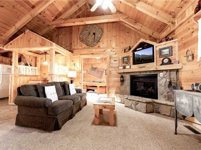 Photo for Beyond Paradise, 1 Bedroom, Hot Tub, Fireplace, WiFi, Grill, Sleeps 2