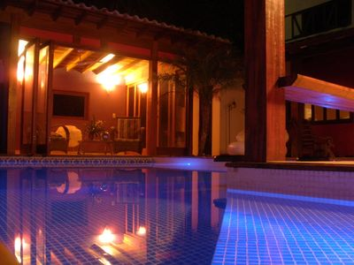 Photo for Beautiful, Modern and Comfortable. Swimming pool, Barbecue. Jacuzzi and Rain Shower - 10 People