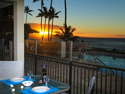 Photo for Beautiful  Oceanfront Condo With Air Conditioning!