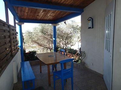 Photo for Small house view and seaside, ideal for a family. 2 star ranking