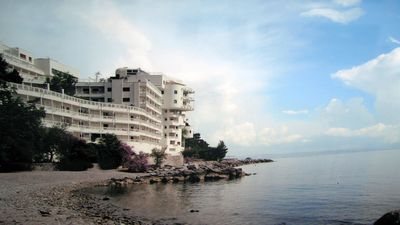 Photo for Trieste Coast Luxury apartments on the sea with private beach