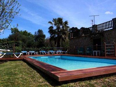 Photo for With private pool and garden - Villa Can Sol