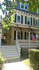 Photo for 4 BR, Victorian Beach House in the Historic District, 1/2 Block to Beach & Mall