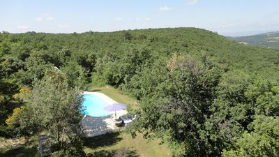 Photo for EN PROVENCE, Detached house, full nature with swimming pool