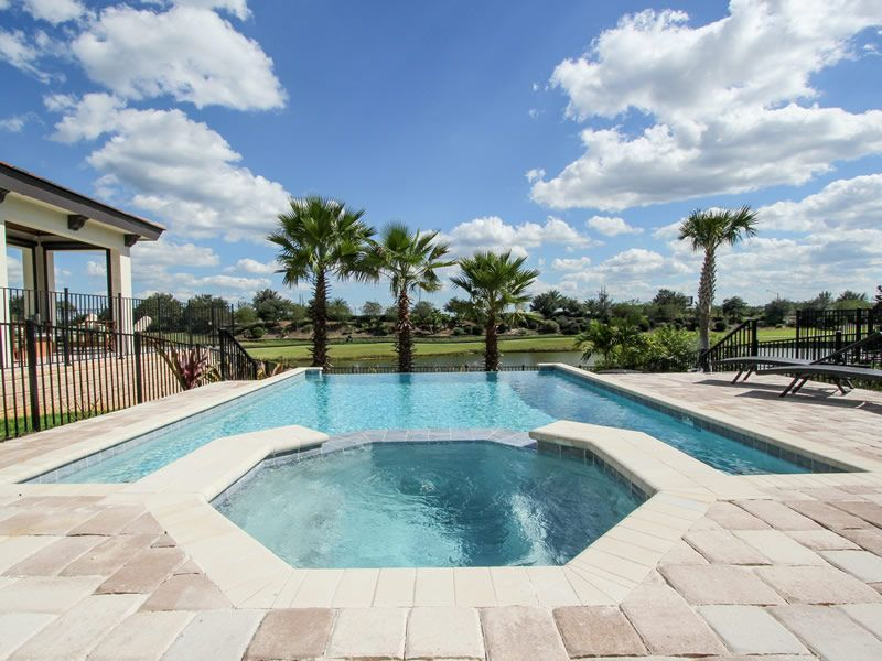 5/5.5, Private Pool and Spa, Grill, Game Room, Golf View, FREE Waterpark Access