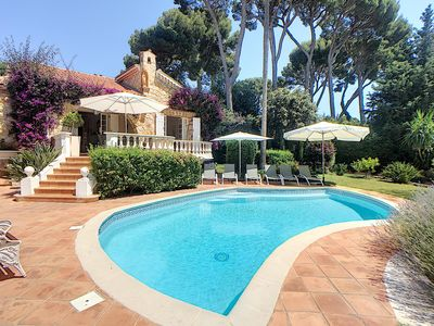 Photo for Prestigious and Charming villa on Cap d´Antibes 200 m to the Sea. WEEKEND OFFERS