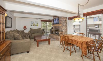 Photo for Walk to Gondola. Year Round Pool/Hot Tub/fitness.  Extensive complex remodel.