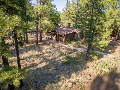 Located in beautiful wooded area