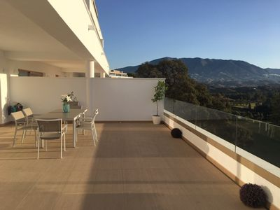 Photo for ELEGANT LOW 3 BEDROOMS FRONT TO THE GOLF COURSE OF LA CALA DE MIJAS