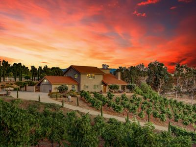 Photo for Vino Vento Home On A Hill ~Quiet Minutes From Wineries Entertainment w/ A POOL