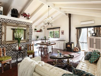 Photo for Rustic French Provincial Cottage set in a secluded picturesque location