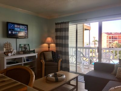 Photo for Comfy Beach Condo with Heated Pool and Hot Tub!