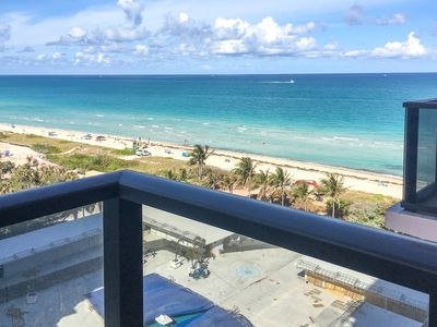 Photo for Sleek, modern condo with shared pool, hot tub, and ocean views!