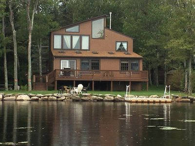 Photo for Upscale  Lakefront Vacation Rental in the Heart of the Poconos