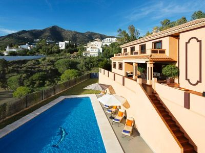 Photo for Luxury Villa near to Mijas Pueblo that sleeps 14. With Large Private Heated Pool
