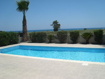 Photo for Apollon Villa by the Sea With Private Pool, Gated Private Road in Quiet Location