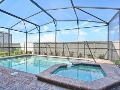 Photo for BRAND NEW UNIT AND RESORT!! GAMEROOM, JACUZZI, 2 MASTER SUITES!