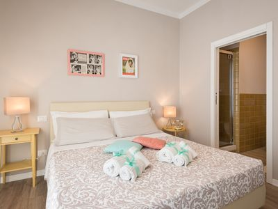 Photo for B & B La Cornice - Gina room with bathroom and private terrace