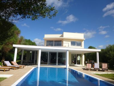 Photo for Villa With Private Pool South Facing Sea Views Over Unspoilt Open Countryside