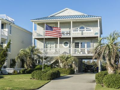 Photo for Clear for Take Off: 4 Bed/3.5 Bath with Glorious Marsh Views and Easy Beach Access