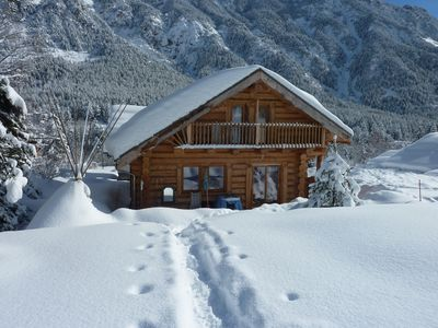 Photo for Trapper chalet implanted in the valley of Clarée classified big site