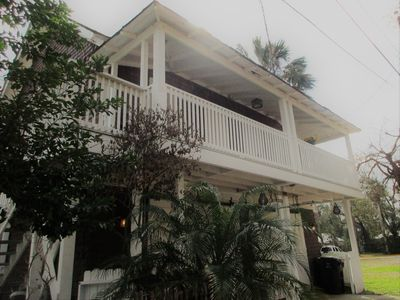 Photo for 1883 Carriage House w/ Private dock, Kayaks & 5 blocks to Historic Downtown!