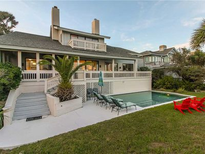 Photo for Classic Oceanfront Palmetto Dunes Home with Stunning Views!